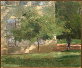 Henri rouart le peintre des arbres les soir es de paris - Garage de la montagne la queue en brie ...