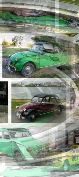 2 CV sur le mur d'images Google. Photo: PHB