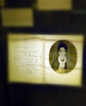 Jean Cocteau par Marie Laurencin au Musée des lettres et manuscrits. Photo: PHB
