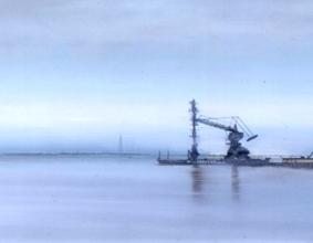 Extrait d'une oeuvre de Jock McFayden. Source: Museum of London Docklands