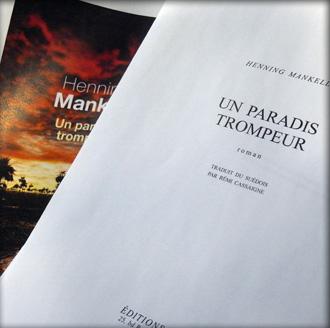 """""""Un paradis trompeur"""". Des extraits du livre sont disponibles en ligne. Photo: PHB"""