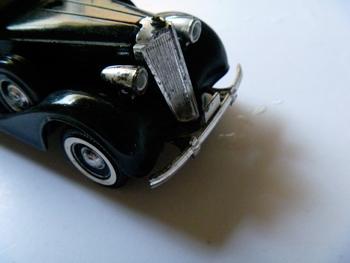 Calandre de la Packard. Photo: PHB