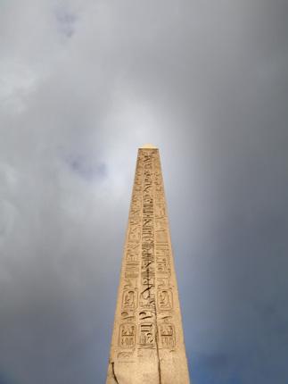 L'obélisque de la place de la Concorde. Photo: Les Soirées de Paris