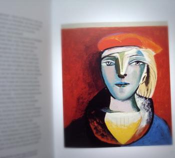 """Portrait de Marie-Thérèse Walter extrait de """"Picasso Portrait Intime"""". Arte Editions et Albin Michel. Photo: Les Soirées de Paris"""