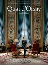 Quai d'Orsay, l'affiche du film