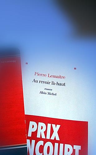 """""""Au revoir là-haut"""". Pierre Lemaître. Photo: PHB"""