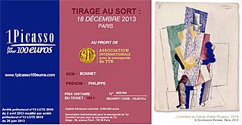 Le ticket des Soirées de Paris