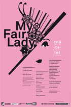 My fair lady. L'affiche du spectacle