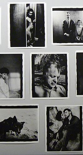 Anders Petersen à la BnF. Photo: LSDP