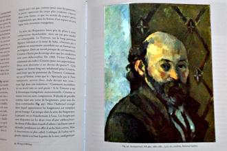 Autoportrait de Cézanne reproduit dans le livre de Jean Colrat. Photo: Les Soirées de Paris