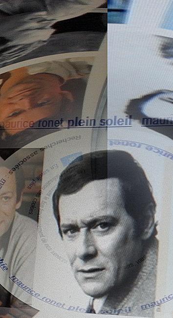 Maurice Ronet sur le mur d'images Google. Photo: PHB