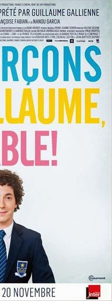 """Détail de l'affiche """"Les garçons et Guillaume, à table""""!"""