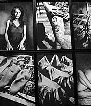Anders Petersen à la BnF. Photo: Les Soirées de Paris