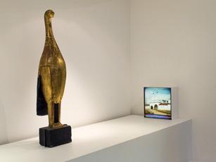 """Aspect de l'exposition """"Voyage dans l'ancienne russie"""". Photo: Lottie Brickert"""