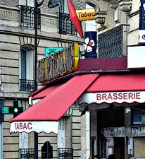 Café parisien. Photo: Les Soirées de Paris