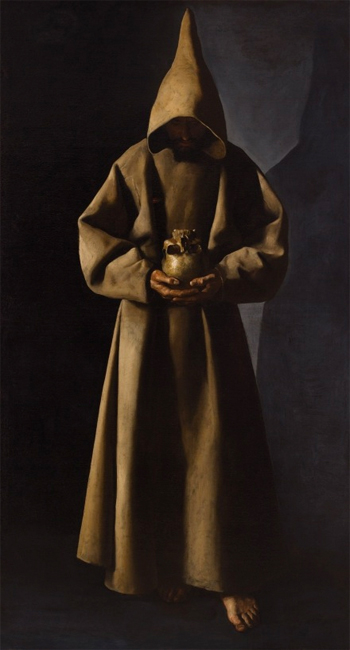 Saint François d'Assise (vers 1635)  Milkwaukee Art Museum.
