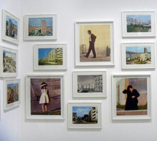 Mathieu Pernot. Musée du Jeu de Paume. Photo: Les Soirées de Paris