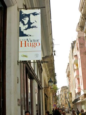 La Casa Hugo, à La Havane. Photo: Gérard Goutierre