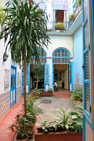 La Casa Hugo à La Havane. Photo: Gérard Goutierre