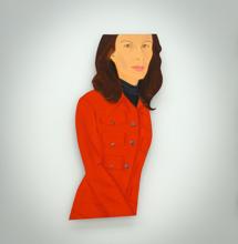 Oeuvre de Alex Katz exposée à la galerie Thaddaeus Ropac de Pantin. Photo: Les Soirées de Paris.
