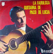 Premir disque de Paco De Licia. Photo et collection: Gérard Goutierre