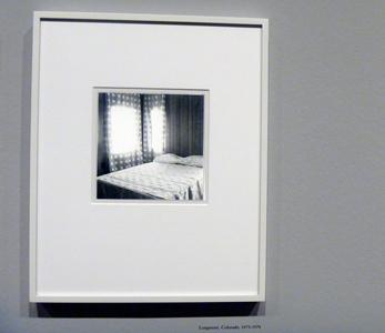 Photo de Robert Adams exposée au Musée du Jeu de Paume. Photo: Les Soirées de Paris