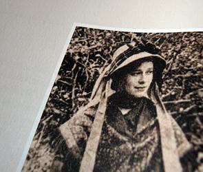 """Maria Dubois telle que publiée dans """"Une muse d'Apollinaire à Stavelot"""", par Fanchon Daemers. Photo: Les Soirées de Paris"""
