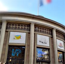 Détail du Palais d'Iéna. Photo: Lottie Brickert