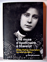 """Une muse d'Apollinaire à Stavelot"", par Fanchon Daemers. Photo: Les Soirées de Paris"