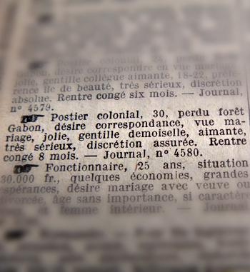 Extrat d'un numéro du Chasseur Français daté décembre 1929. Photo: LSDP.