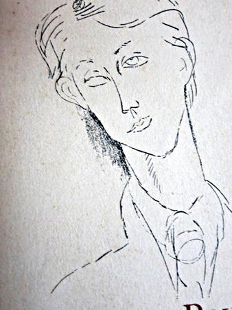 François Bernouard par Modigliani. Photo: Gérard Goutierre