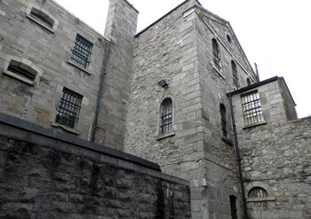Le bâtiment sinistre de Kilmainham. Photo: Lottie Brickert