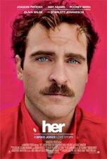 """L'affiche de """"her"""""""