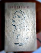 Portrait d'Apollinaire par Picasso. Editions de l'esprit nouveau. Photo: Les Soirées de Paris