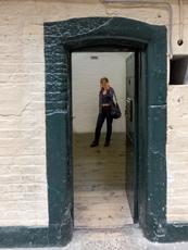 Visite d'un cachot à Kilmainham. Provenance image: Lottie Brickert