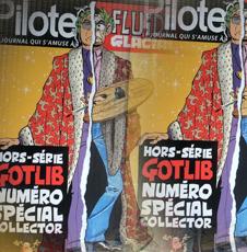 Le numéro spécial de Fluide Glacial consacré à Marcel Gotlib. Photo: Les Soirées de Paris