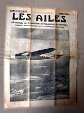 """Hebdomadaire """"Les Ailes"""", mai 1937. Photo: Les Soirées de Paris"""