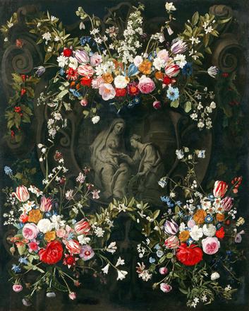 Le mariage mystique de Saint Catherine. Anvers, Rockoxhuis museum. ©Erwin Donvil KBC