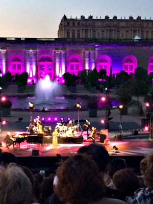 Concert de Natalie Dessay et Michel Legrand au château de Versailles. Photo: Guillemette de Fos