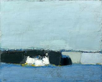 NICOLAS DE STAËL (1941 – 1955)/Plage (paysage)/Huile sur toile – 65 x 81 cm/Vendue le 3 juin 2014/1 241 800 € (frais inclus)