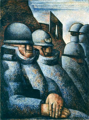 Marcel GROMAIRE, La Guerre, 1925, © ADAGP, Paris 2014 © RMN-Grand Palais (Musée d'Art moderne de la Ville de Paris) / Agence Bulloz