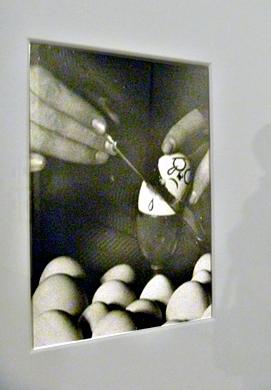 Oeuvre de Kati Horna exposée au Jeu de Paume. Photo: LSDP
