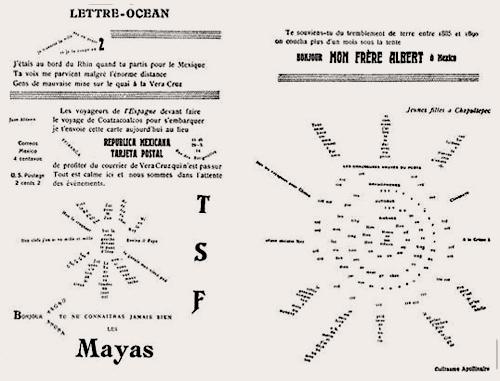 """La fameuse """"Lettre océan"""" parue dans le numéro 25 des Soirées de Paris. Photo: LSDPe"""