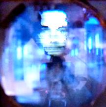 Les tout débuts de la télé mécanique. Photo: LSDP