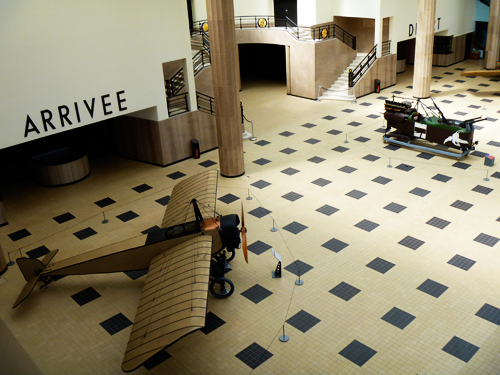 Une partie du hall d'embarquement rénové. photo: Les Soirées de Paris
