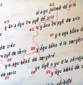 """Les mille et une façons de dire """"cerise"""". Photo: Les Soirées de Paris"""