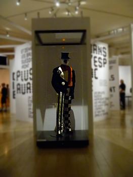 Aspect de l'exposition sur les Ballets Suédois. Photo: Les Soirées de Paris