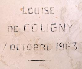 Louise de Coligny au cimetière de Passy. Photo: Les Soirées de Paris