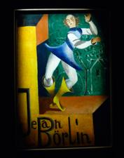 Projet d'affiche pour les premiers Ballets Suédois. Photo: Les Soirées de Paris