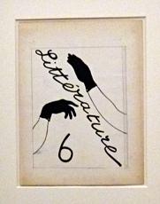 Projet de couverture du numéro 6 de Littérature. Photo: Les Soirées de Paris